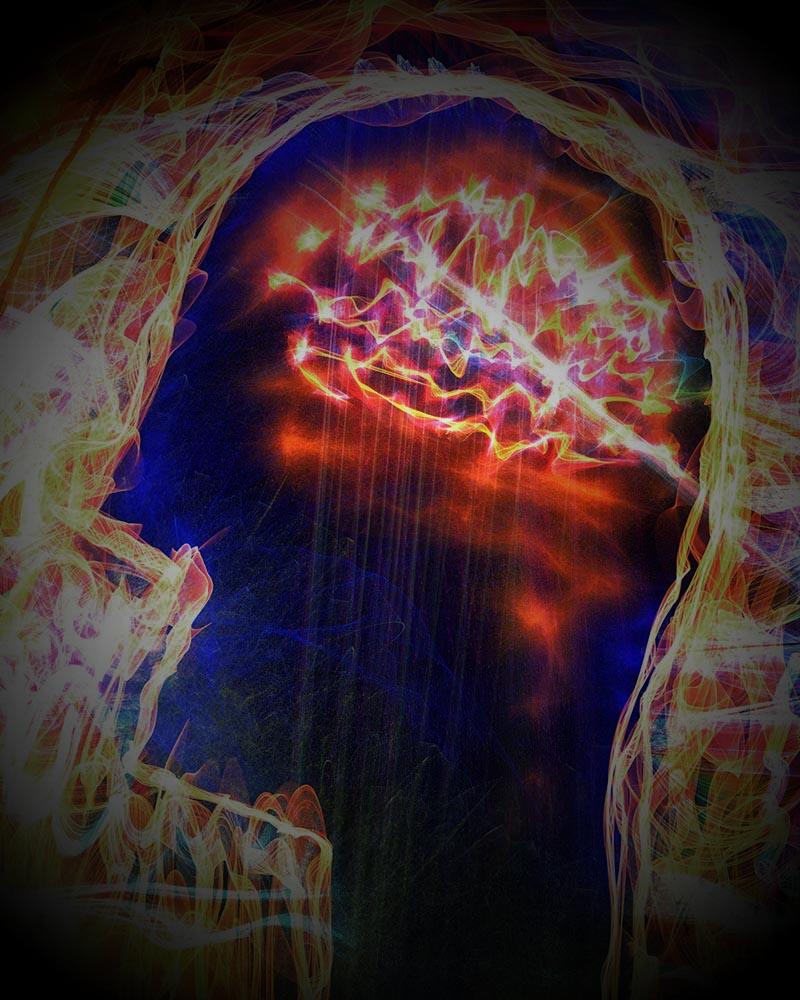 sinais no cérebro