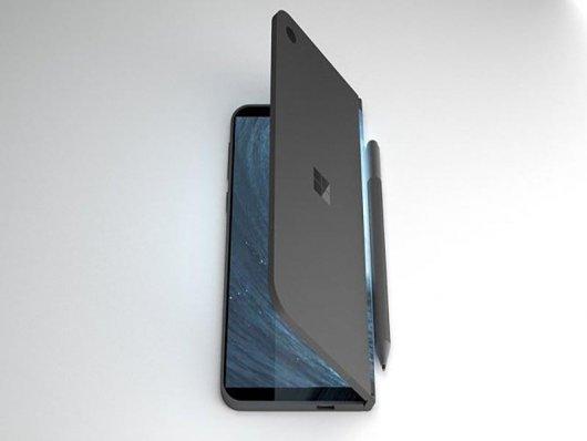 Microsoft trabalha no surface com duas telas que cabe no bolso.
