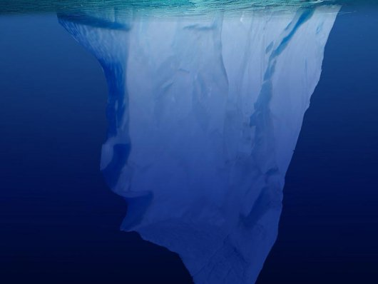 Oriente Médio planeja rebocar iceberg da Antártida