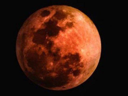 Eclipse lunar será visto por quase todo o mundo, exceto na América do Norte