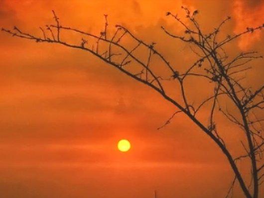 Os fótons formados no interior do Sol levam cem mil anos para chegar à Terra