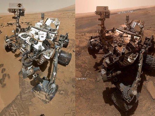 Veja como está o robô Curiosity depois de 7 anos em Marte